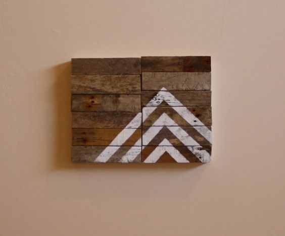 Arrow no1  Modern Industrial Design  Reclaimed by NestaHome, $65.00