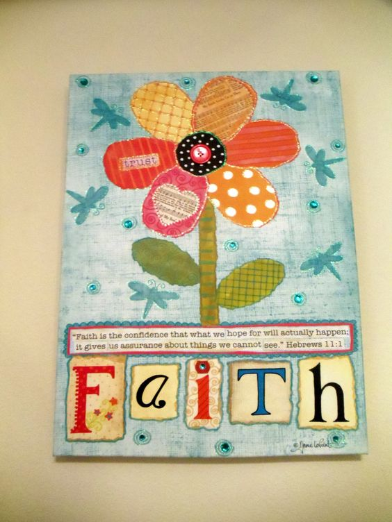 art work for sewing studio from Hobby-Lobby