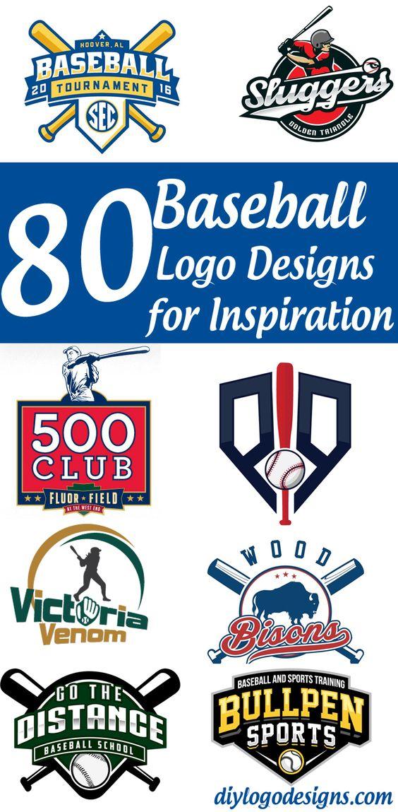 80+ Baseball Logo Designs for Your Inspiration. See full