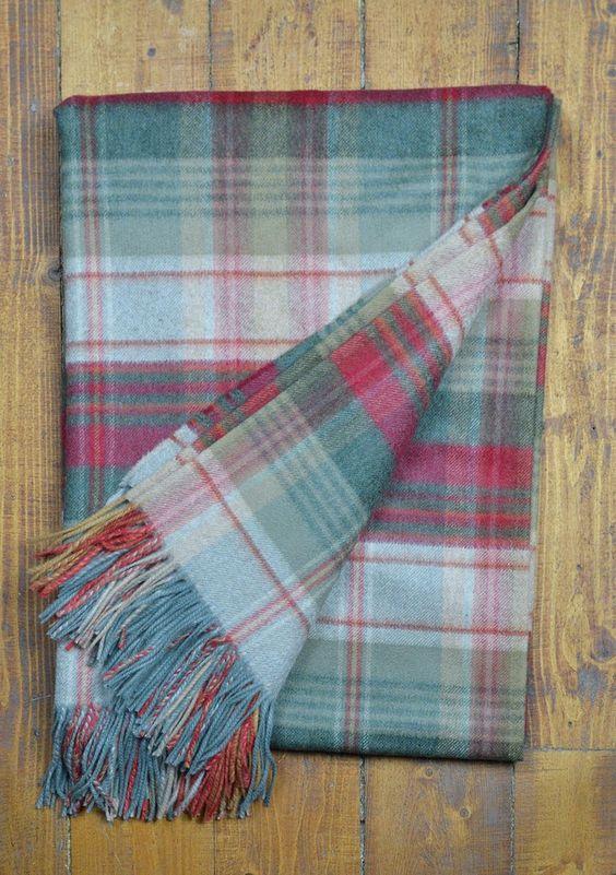 Luxury Cashmere Tartan Blanket  | The Tartan Blanket Co.