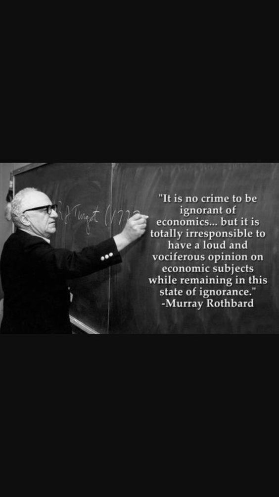 Murrary Rothbard quote: