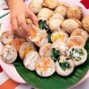Kanom krok, crêpes thaïes sucrées - une recette Asiatique - Cuisine