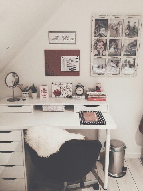 Desk area dream room pinterest teppiche for Tumblr schreibtisch