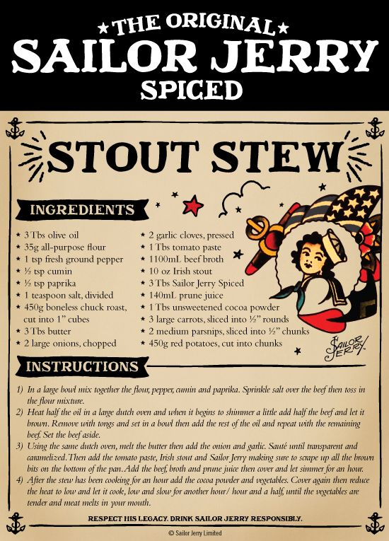 Sailor Jerry Stew