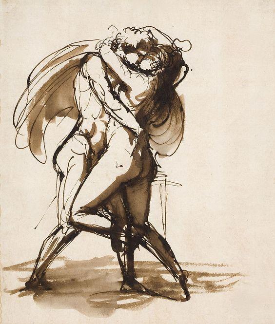 Johan-Tobias Sergel (1740-1814), sculpteur et dessinateur suédois