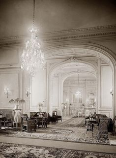 1898 inside the Grand-Continental Savoy Hotel, Cairo