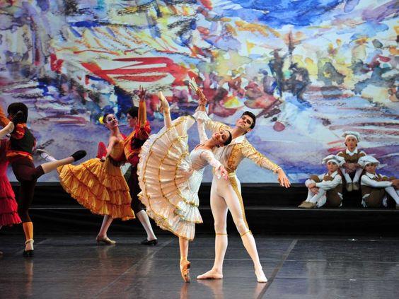 "O Ginário Nilson Nelson recebe o espetáculo de ballet ""Don Quixote"", realizado pela Escola de Teatro Bolshoi do Brasil"