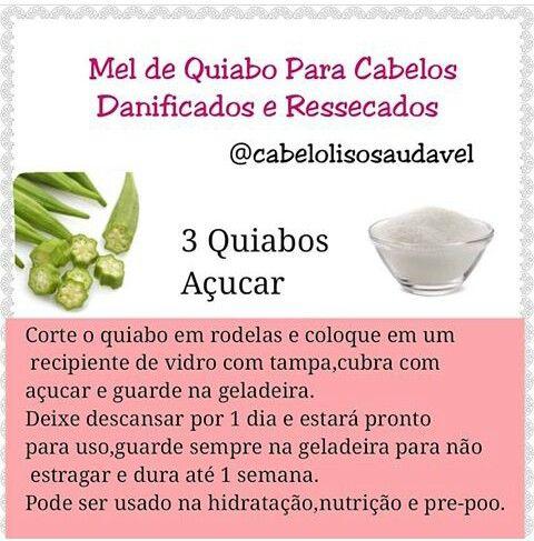 Mel De Quiabo Foi Feito Para Recuperar Cabelos Danificados E