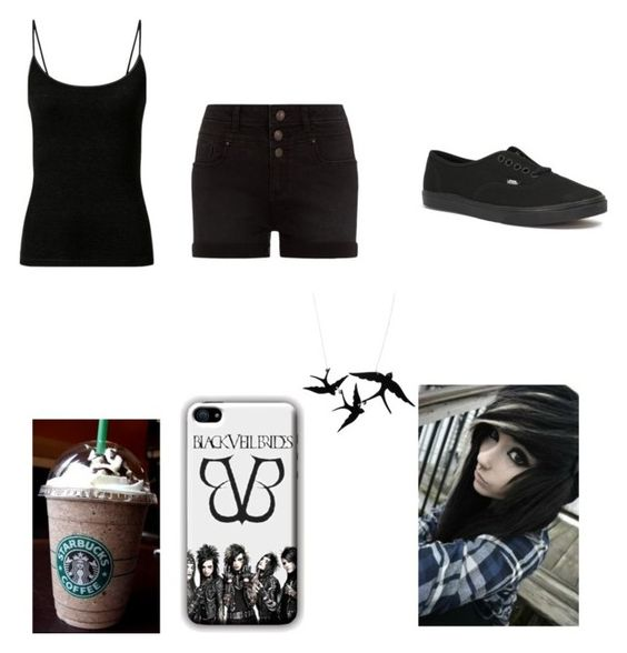 U0026quot;summer outfit #punk/emou0026quot; by jastrong liked on Polyvore | My Style | Pinterest | Emo Summer and ...
