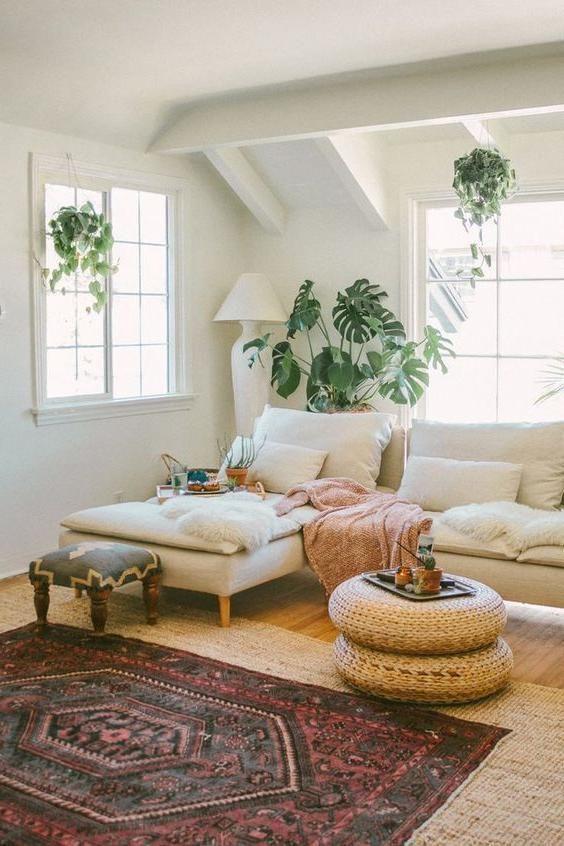 39 Beautiful Photos Of Bohemian Interior Design Home Living Room