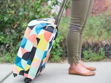 LOQI | Fabric Luggage Covers