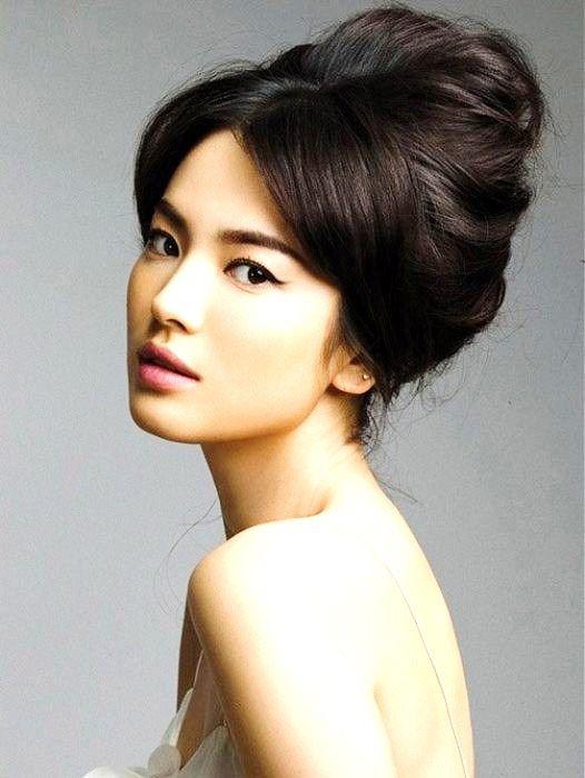 Cute: Wedding Idea, Cat Eye, Hair Makeup, Hair Style, Updo