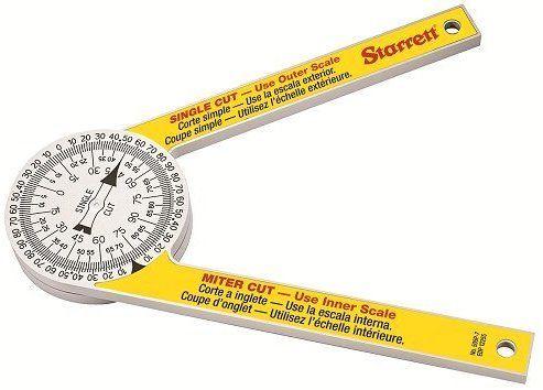 Starrett 505p 7 Miter Saw Protractor Construction Protractors Amazon Com Protractor Miter Saw Woodworking Jigs