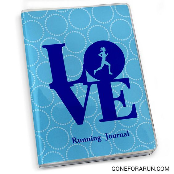 LOVE to run? Keep track of your training in your own personalized running journal! goneforarun.com
