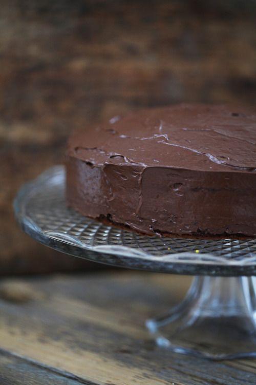 Chocolat mud pie #chocolate