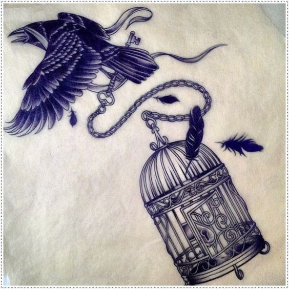 Raven Tattoos 123