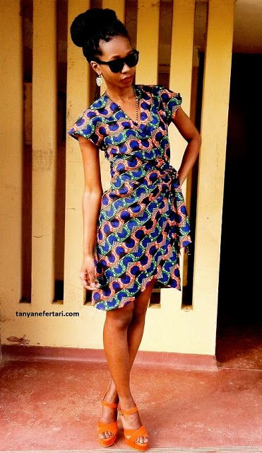 African Prints in Fashion: Prints of the Week: Tanya Nefertari