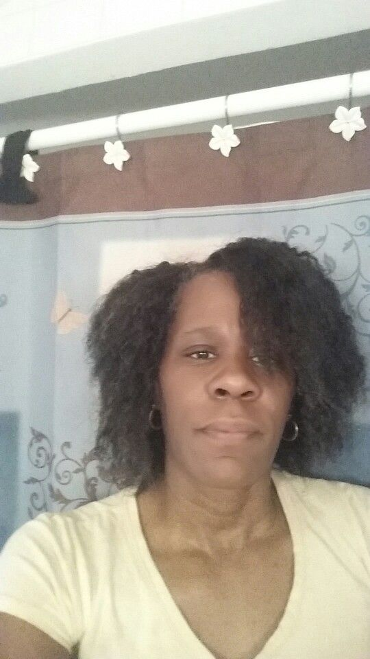 I got my first perm at 12 yrs old, I was desiring yo have straight hair like the Caucasian little girls. My hsir over the years got thin and broke off badly. By the time I hit 45 yrs old. My hair was short as a Bob hairstyle. I went natural a year ago, it's been 16 months and as you see my hsir is almost full shoulder length in front and in the back it's pass my nape, in between my shoulder blades. Natural is the best thing that has happened to me. This is a length check (flat ironed)
