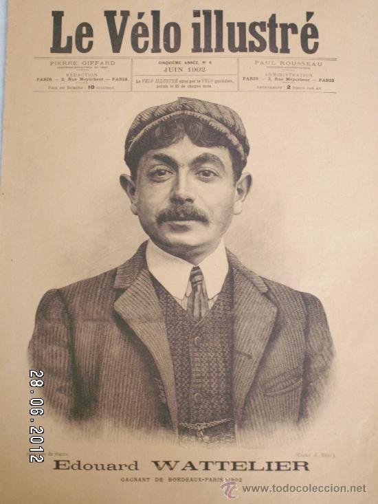 LE VÉLO ILLUSTRÉ ( JUNY 1902) - Foto 1