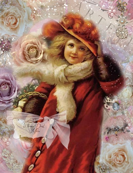 Digital collage sheet vintage Imaginations 82 by whimsydust