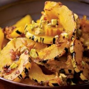 Try eating more squash with these healthy delicata squash recipes.