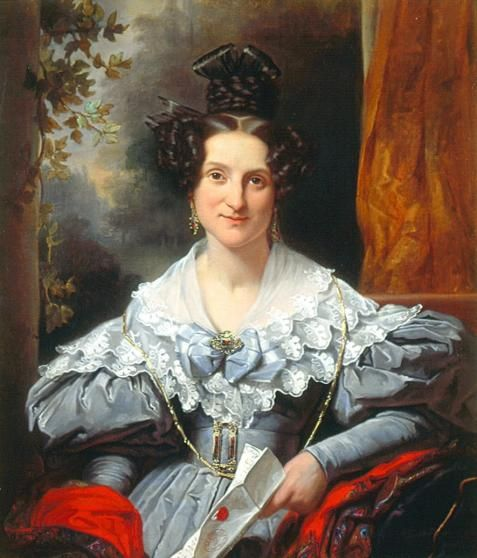 Hendrina Eclasina Geertruida Vinju-Heije (1803-1858) - Jan Adam Kruseman, 1834