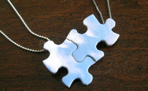 manualidades piezas de puzzle - Buscar con Google