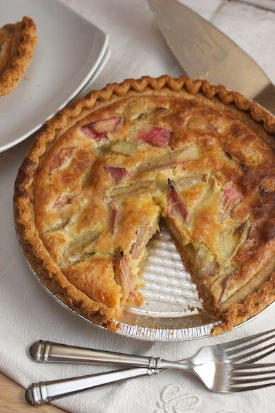 Rhubarb Custard Pie: Tiny Kitchen, Dessert Recipes, Recipes Sweet, Recipes Cookies Pies, Rhubarb Custard Pies, Food Pies, Food Recipes Rhubarb, Pie Recipes