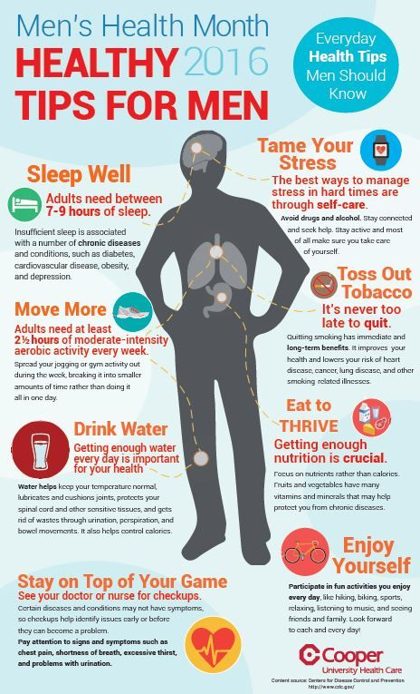 Men S Health Month May Be Winding Down But Men Need To Stay Focused On Their Wellness This Month And Every Month Use Men Health Tips Mens Health Health Tips
