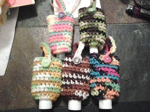 Ravelry Hand Sanitizer Cozy Pattern By Micah York Crochet Baby