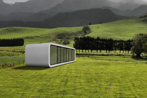 """Ein """"Smart Home"""" auf 32 Quadratmetern: das """"codoo"""" ist ein mobiles Haus mit Zusatzfunktionen"""