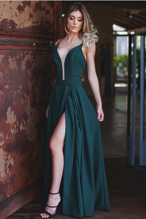 Vestidos longos elegante lindo
