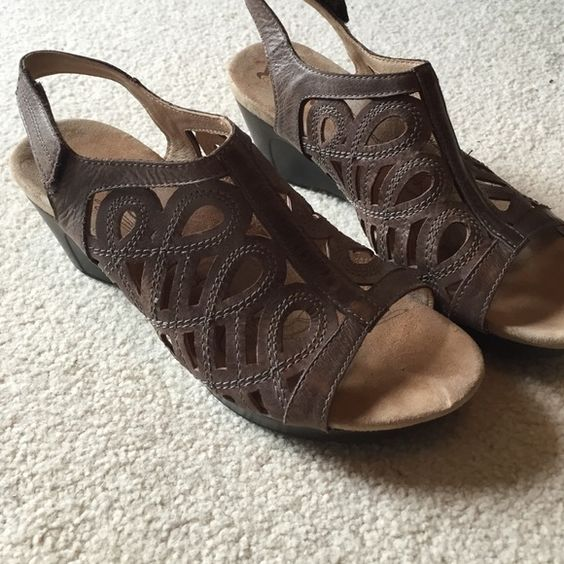 "NWOT Romika Sandals Last Chance! New without box. I bought 3 pairs and waited too long to return this one. 2.5"" inch heel and Velcro strap. Romika Shoes Sandals"