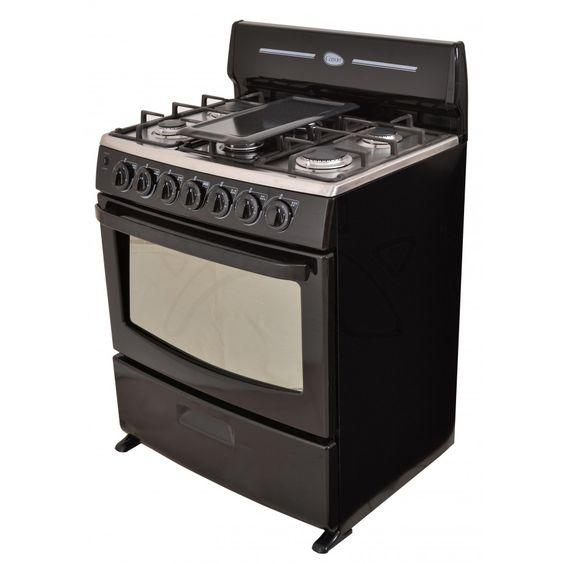 Cetron cocina ecg3040nis0 6 quemadores de 30 for Cocina 6 quemadores