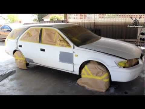 Backyard Auto Parts how to respray a car in your backyard | hydro/plastic/other coatings