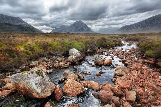 'One of the Glens', Scotland, Highlands, Glencoe / Image via: WanderingtheWorld  #scotland
