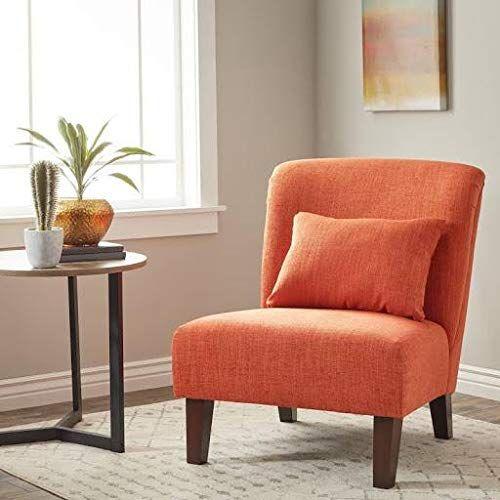 Clay Alder Home Anna Fiesta Orange Accent Chair With Images