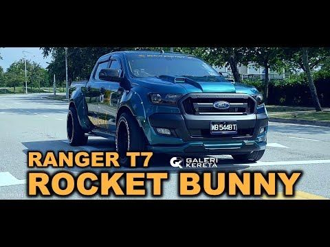 Ford Ranger Rocket Bunny By Sham Bodykit Youtube Ford Ranger