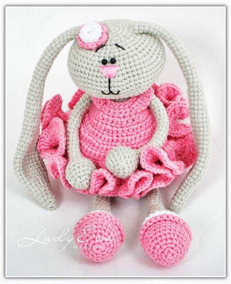 Pig Rabbit Amigurumi Patron : Pinterest The world s catalog of ideas