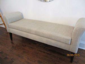 Banc m ridienne r camier daybed divan style restoration for Banc meridienne