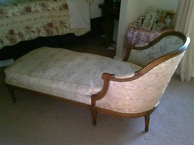 Wood accents carved wood and chaise lounges on pinterest for Carved wooden chaise