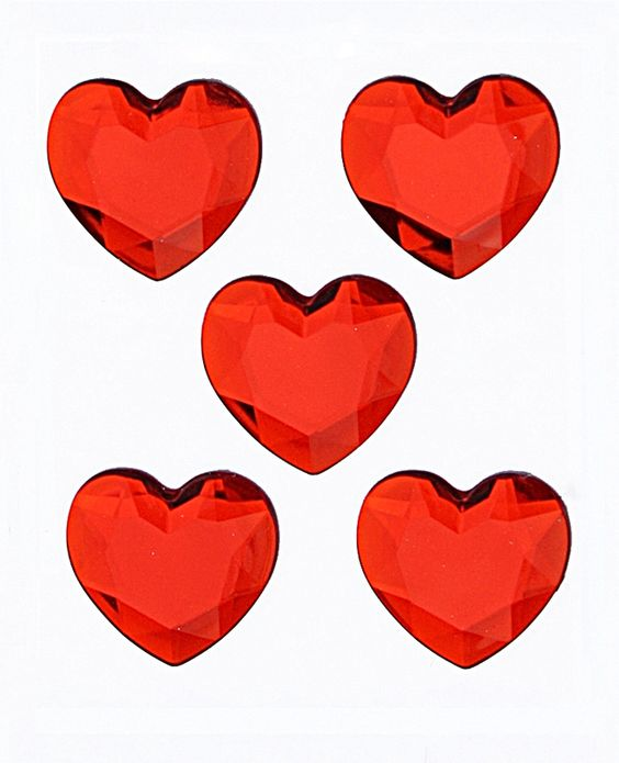 For Valentines Day we LOVE Mark Richards Red Heart Stickers!!
