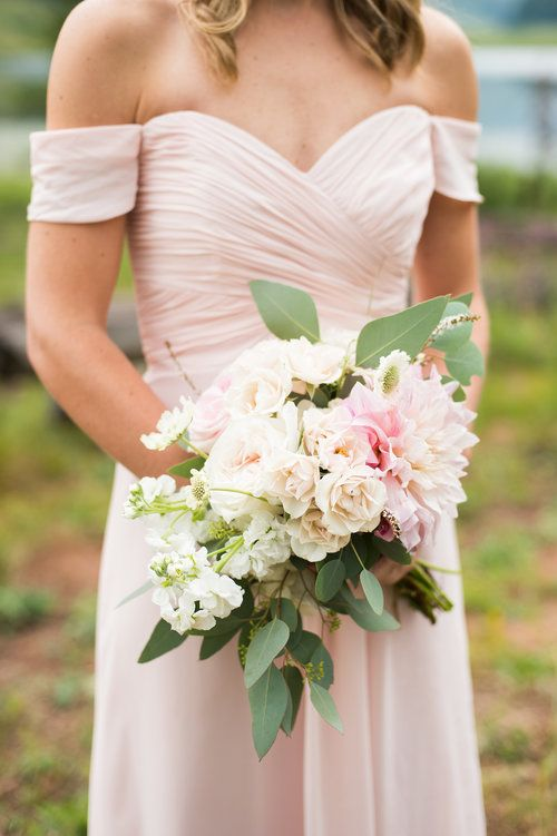Flowers By Lace And Lilies Bridesmaid Flowers Blush Dresses