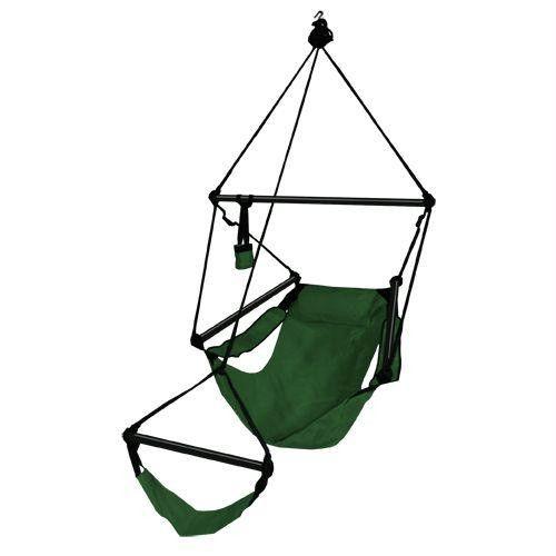 Hammaka Chair Forest Green Aluminum Dowels