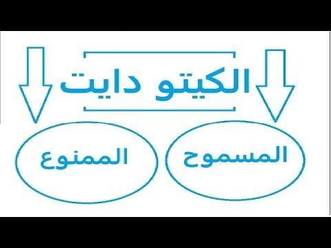 المسموح والممنوع في الكيتو دايت الاكل المسموح به فى الكيتو دايت نظام الكيتو دايت Youtube Gaming Logos Nintendo Wii Logo Logos