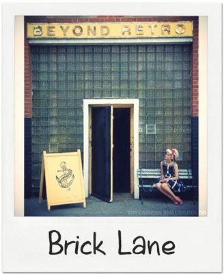 Front of Beyond retro vintage clothing store Brick Lane