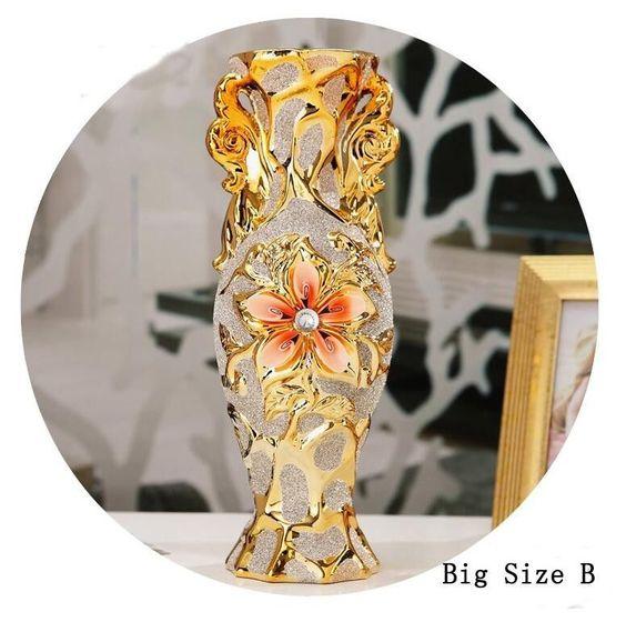 European Modern Fashion Ceramic Flower Vase,Decorative Vases,Home decoration modern or Wedding Decoration Vaso,Jingdezhen vase