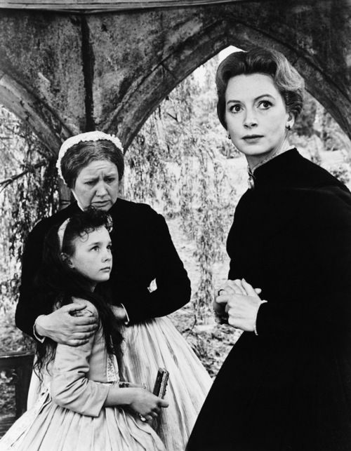 """The Innocents"" by Jack Clayton (1961) - Deborah Kerr & Pamela Franklin"