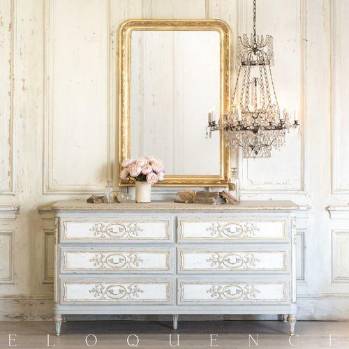 Eloquence® Bronte Dresser in Fleur de Lis Finish