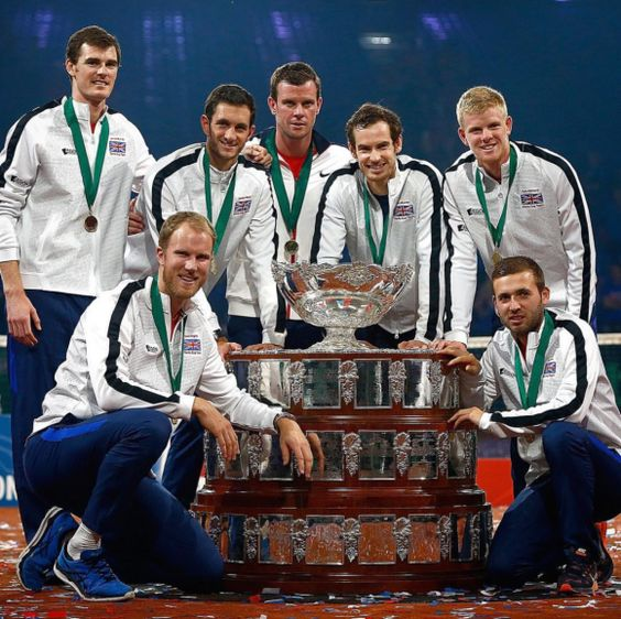 12/8/15 Not a dream! Last week, Andy Murray & Jamie Murray led Great Britain to another Davis Cup after a drought of 37 years. #GreatScots!